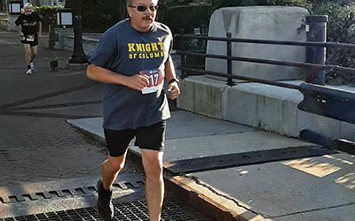 Knights at the Morning Star Run/Walk For Life